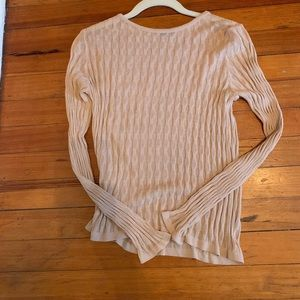 Vintage United Colors of Benetton Blush Sweater. L